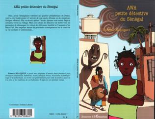 Couverture Awa petite détective du Sénégal