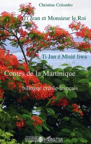 Couverture Ti Jean et Monsieur le Roi / Ti Jan et Misié liwa