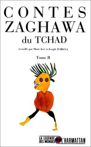 Couverture Contes Zaghawa du Tchad