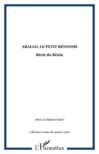 Couverture Aballo, le petit béninois