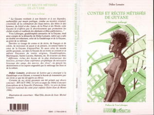 Couverture Contes et Récits Métissés de Guyane