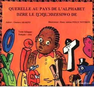Couverture Querelle au pays de l'alphabet