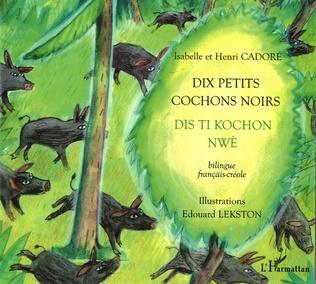 Couverture Dix petits cochons noirs