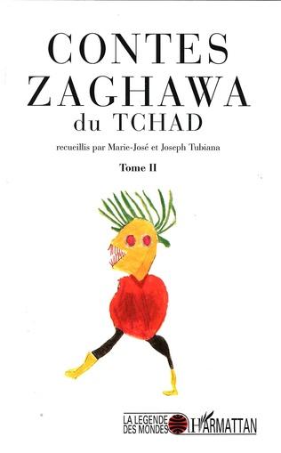 Couverture Contes Zaghawa du Tchad