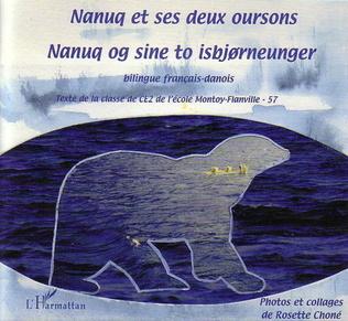Couverture Nanuq et ses deux oursons