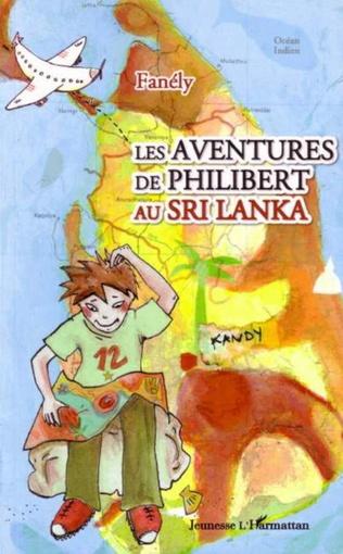 Couverture Les aventures de Philibert au Sri Lanka