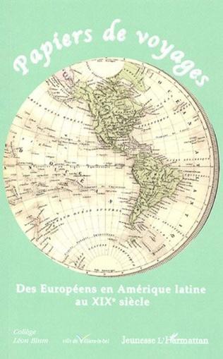Couverture Papiers de voyages