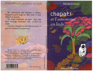 Couverture Chapati et l'astronome en Inde