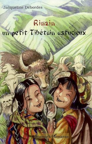 Couverture Rinzin un petit tibétain astucieux