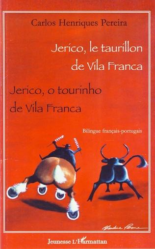 Couverture Jerico, le taurillon de Vila Franca