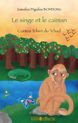 Couverture Le singe et le caïman