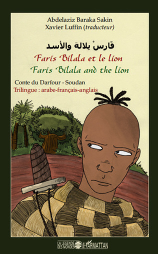 Couverture Faris Bilala et le lion. Faris Bilala and the lion
