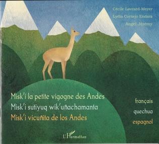 Couverture Misk'i la petite vigogne des Andes