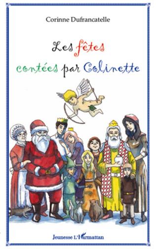 Couverture Les fêtes contées par Colinette