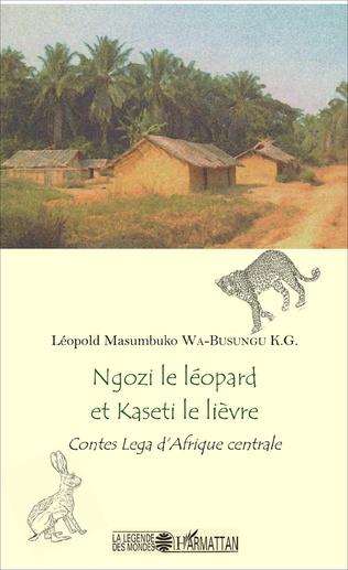 Couverture Ngozi le léopard et Kaseti le lièvre