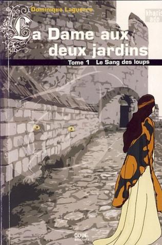 Couverture La dame aux deux jardins