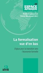 La formalisation vue d'en bas - Fréderic Lapeyre, Simon Barussaud