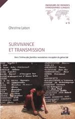 Survivance et transmission - Christine Lebon