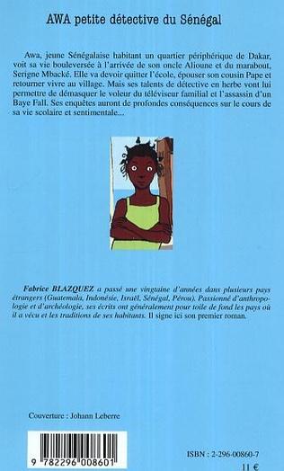 4eme Awa petite détective du Sénégal