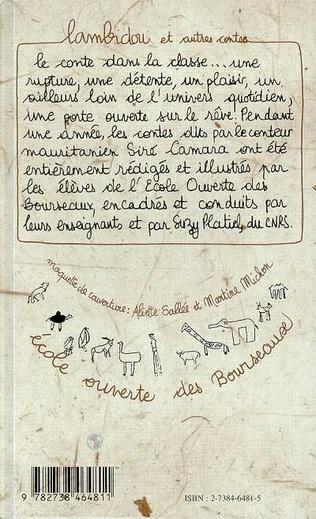 4eme Lambidou et autres contes bilingues