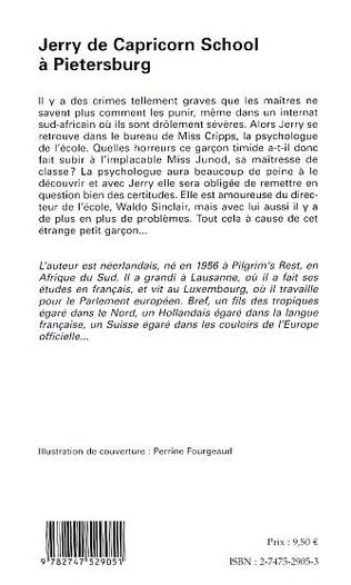 4eme JERRY DE CAPRICORN SCHOOL À PIETERSBURG