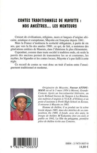 4eme Contes traditionnels de Mayotte : nos ancêtres... les menteurs