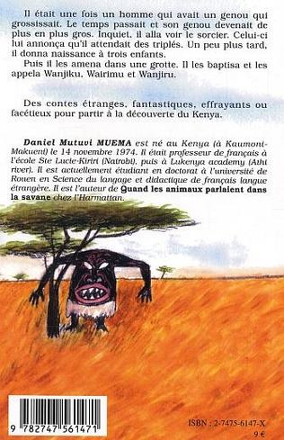 4eme L'homme qui portait un bébé dans son genou et autres contes du Kenya