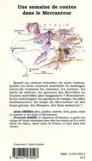 4eme Une semaine de contes dans le Mercantour