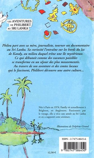 4eme Les aventures de Philibert au Sri Lanka