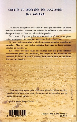 4eme Contes et légendes des nomades du Sahara