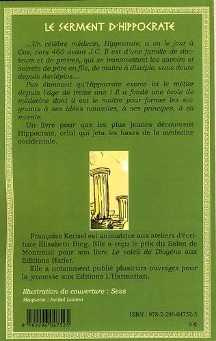 4eme Le serment d'Hippocrate