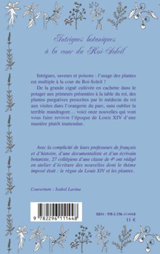 4eme Intrigues botaniques à la cour du Roi-Soleil