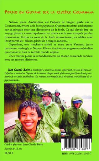 4eme Perdus en Guyane sur la rivière Counamama