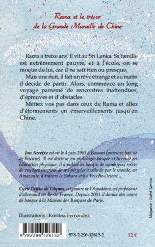 4eme Rama et le trésor de la Grande Muraille de Chine