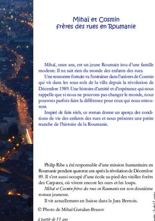 4eme Mihaï et Cosmin frères des rues en Roumanie