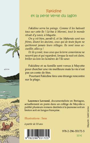 4eme Fakidine et la perle verte du lagon