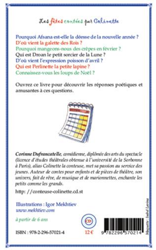 4eme Les fêtes contées par Colinette