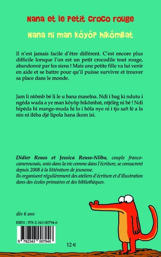 4eme Nana et le Petit Croco rouge