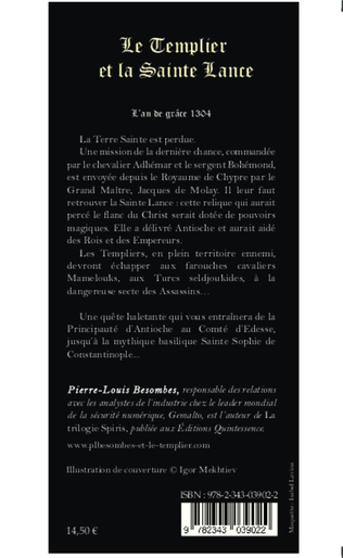 4eme Le Templier et la Sainte Lance