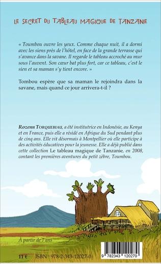 4eme Le secret du tableau magique de Tanzanie