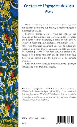 4eme Contes et légendes dagara