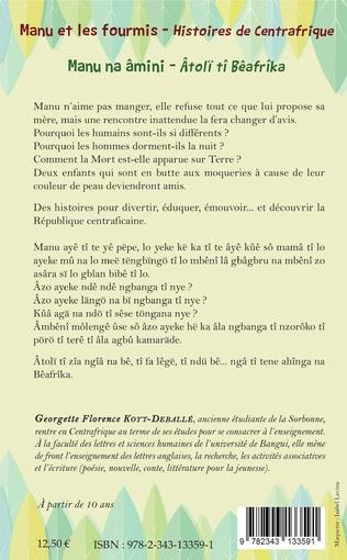 4eme Manu et les fourmis, histoires de Centrafrique