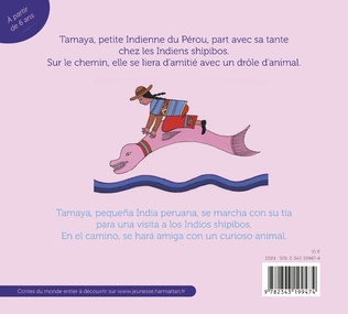 4eme Tamaya et le dauphin rose
